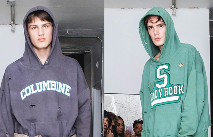 Fashion Designer Launches Line of School Shooting Themed, Bullet Hole Riddled Hoodies