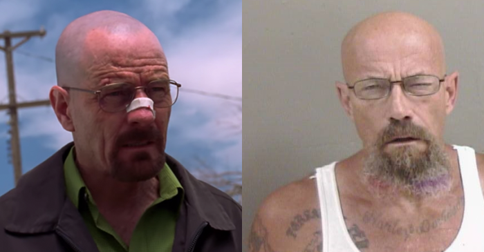 Man Who Looks Just Like Walter White in 'Breaking Bad' Busted for Meth
