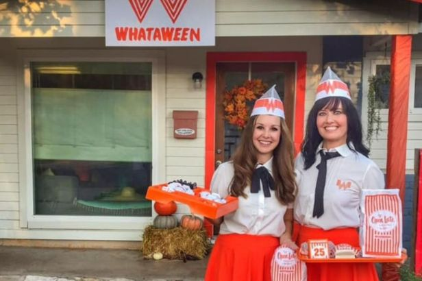This Texas Couple Threw The Coolest Whataburger Halloween Party Ever