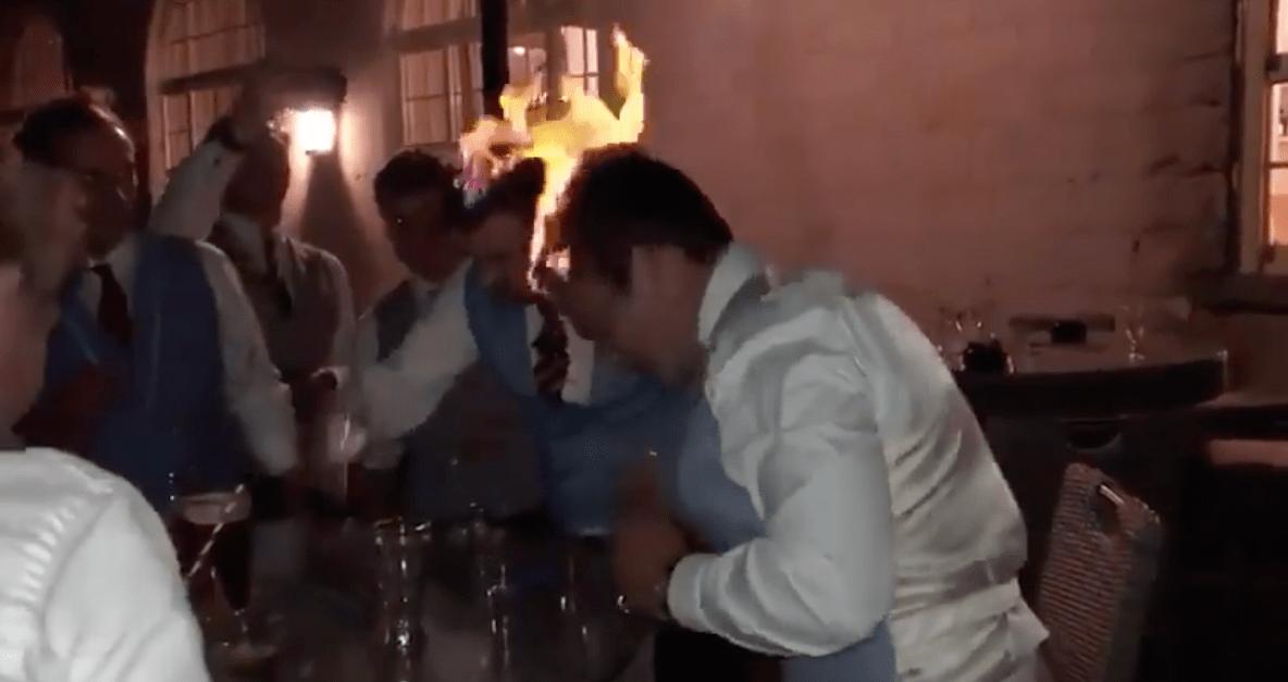 Drinking Game Fire Wedding