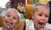 Little Girl First Roller Coaster