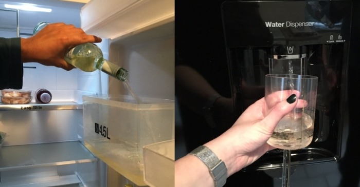 This Genius Woman Hacked Her Fridge to Dispense Wine Instead of Water