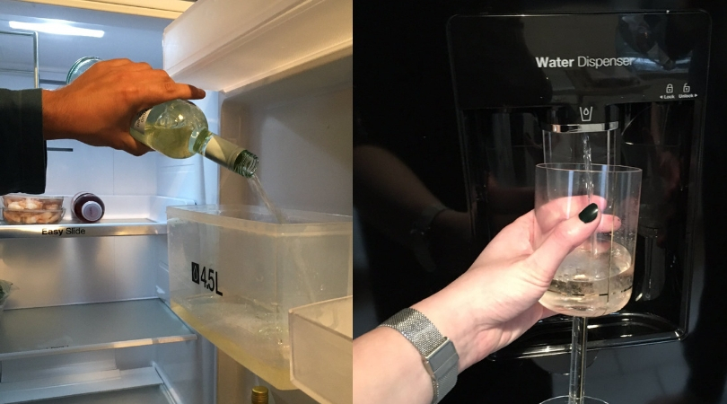 This Genius Woman Hacked Her Fridge to Dispense Wine Instead of Water