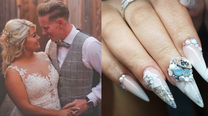 Bride Puts Dad's Ashes In Nails So He Can 'Walk Her Down the Aisle'