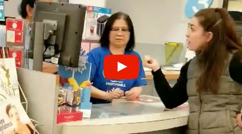 "Racist Woman Yells at Asian Drugstore Staff For ""Speaking Chinese"" in Front of Her"