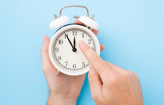 When to Change the Clock for Daylight Saving Time