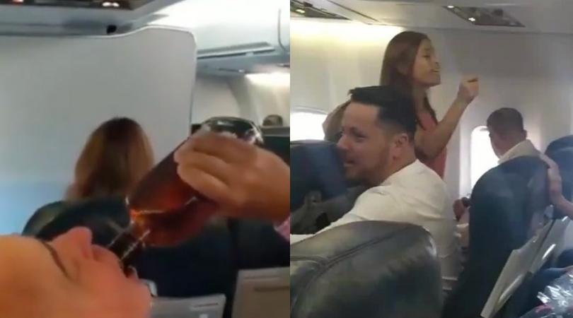 Rowdy Passengers Pray and Chug Whiskey as Plane Makes Emergency Landing