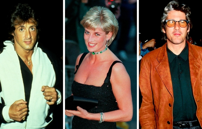 Elton John Revealed that Richard Gere and Sylvester Stallone Fought Over Princess Diana