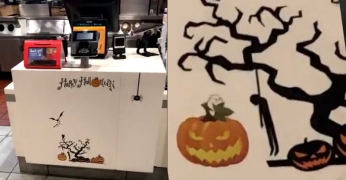 McDonald's Apologizes For Controversial Halloween Decorations