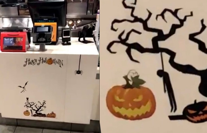 McDonald's Apologized For Controversial Halloween Decorations
