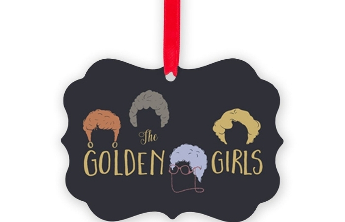 Decorate Your Tree With These 'Golden Girls' Christmas Ornaments!