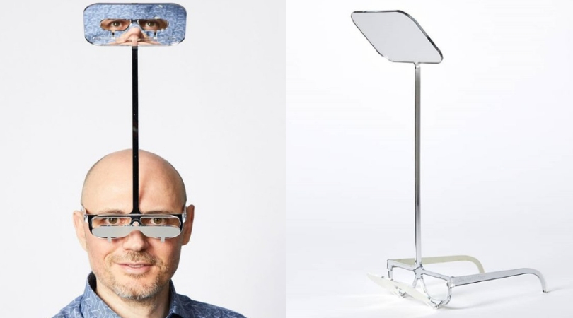 Man Invents Glasses for Short People Who Can't See Over Tall Friends