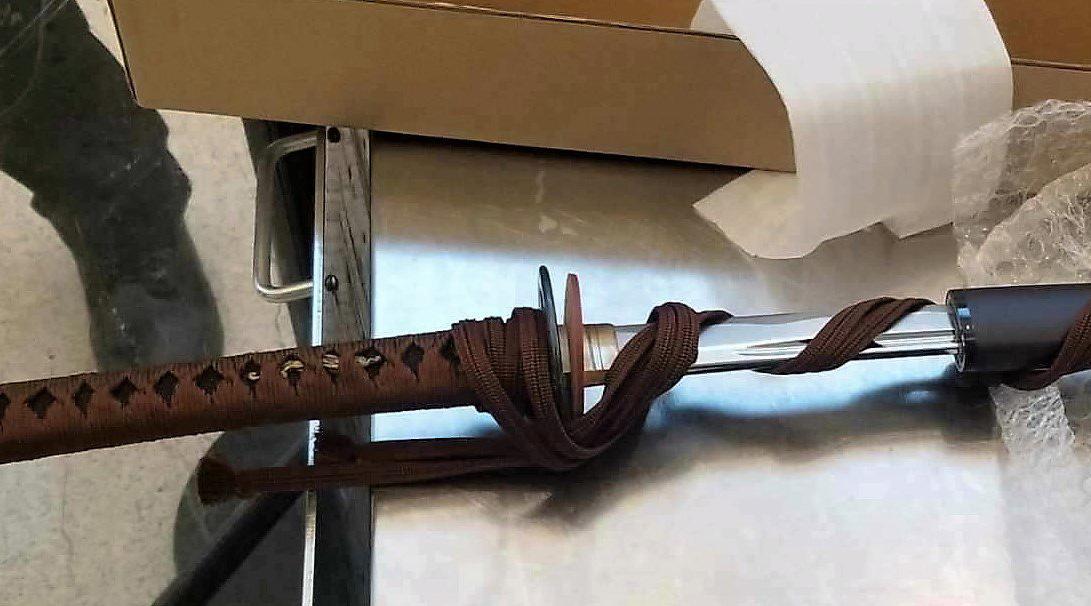 TSA Samurai Sword