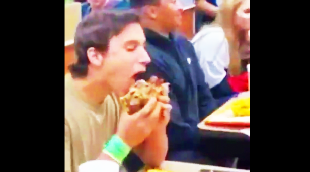 Restaurant Goes Nuts as Kid Devours Massive Whataburger the Size of His Face