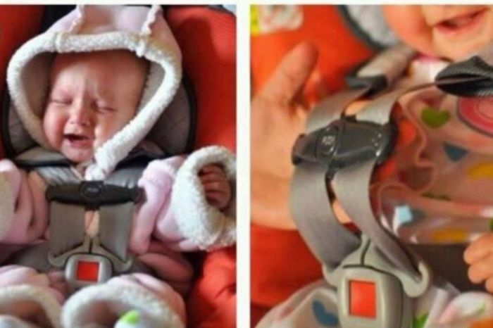 Children Shouldn't Wear Coats Under Car Seat Straps
