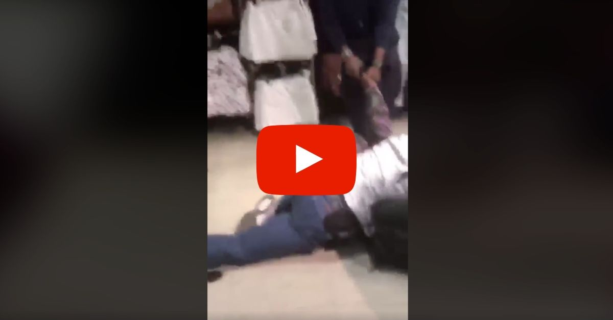 Security Guard Filmed Beating 11-Year-Old Female Shoplifter