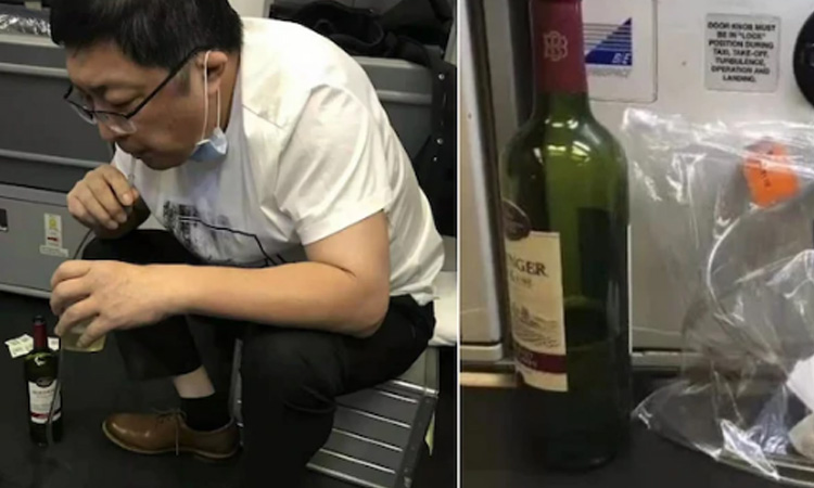 Doctor Saves Man's Life By Sucking Out His Pee for 37 Minutes Mid-Flight