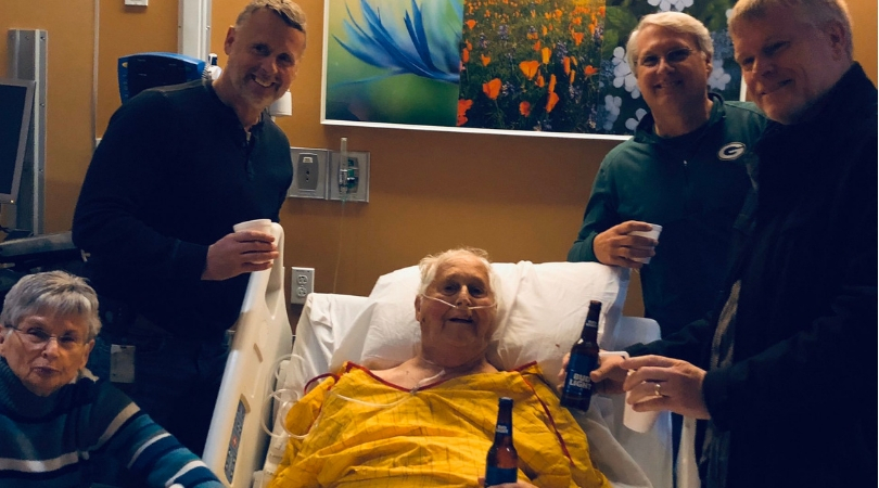 This Man's Dying Wish Was to Have 'One Last Beer' With His Sons