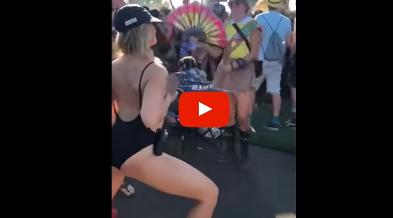 Wild Mom Sprays Breast Milk Over Crowd at Music Festival