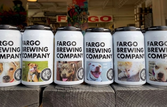 Brewery Puts Rescue Dogs on Beer Cans to Help Them Find a Forever Home