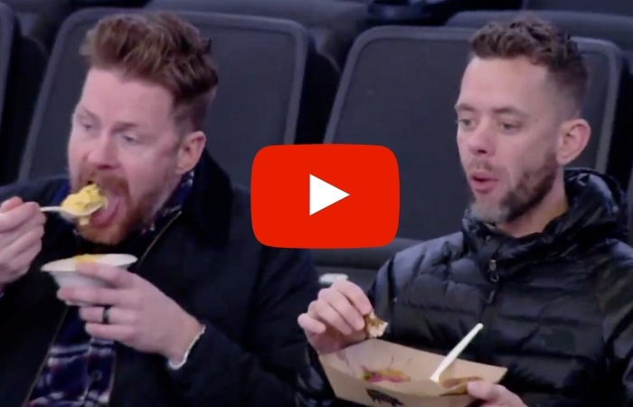 This 'Reverse Eating Cam' at NBA Games is Grossing Out People Everywhere