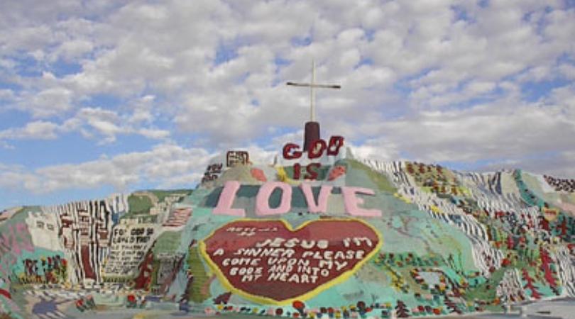 Leonard Knight Spent 25 Years Painting Salvation Mountain
