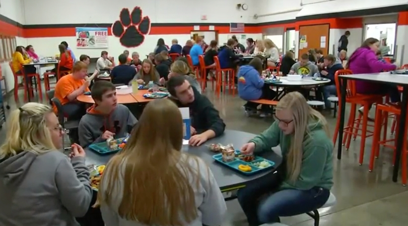 High School Principal Starts 'No Phone, New Friends Friday' Tradition
