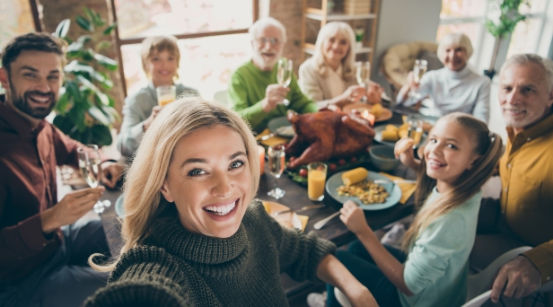 Porn Site Will Pay Families $250 to Livestream Their Thanksgiving Dinner