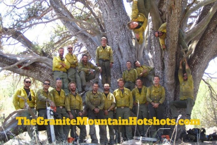 The Granite Mountain Hotshots: The Ones Who Bravely Gave Their Lives During the Yarnell Fire