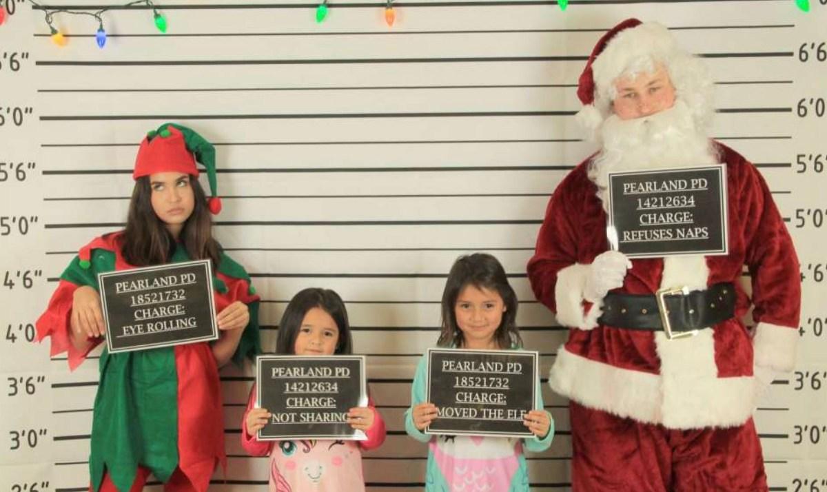 Mugshots With Santa
