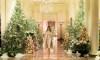 Melania Trump Unveils White House Christmas Decorations