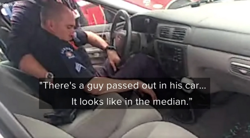 Bodycam Shows Drunk Police Officer Unresponsive in Patrol Car