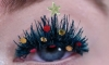 Christmas Tree Eyelashes are the New Holiday Trend This Year
