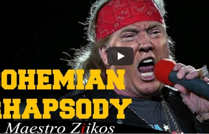 Donald Trump Singing 'Bohemian Rhapsody' Is The Funniest Thing We Have Seen In a While
