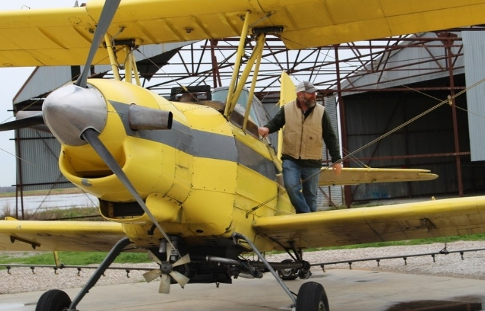 This Church Filled a Crop Duster Plane With Holy Water to Bless Entire Town