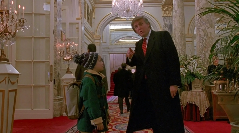 Canadian TV Cuts Donald Trump's Scene from 'Home Alone 2'