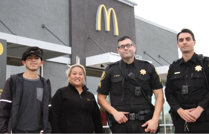 McDonald's Employees Rescue Woman in Danger Who Mouthed 'Help Me' in Drive Thru