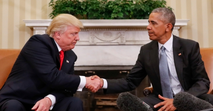 Donald Trump and Barack Obama Tie as Most Admired Man in 2019