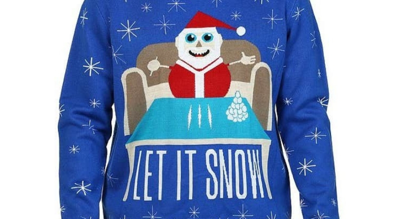 Walmart Apologizes For Sweater Showing Santa Snorting Cocaine