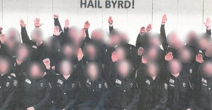 Prison Cadets Fired Over Nazi Salute Photo