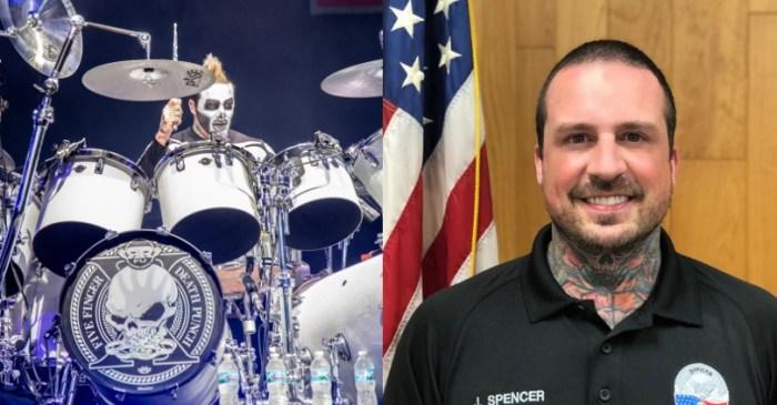 Ex-Five Finger Death Punch Drummer Sworn in as Police Officer