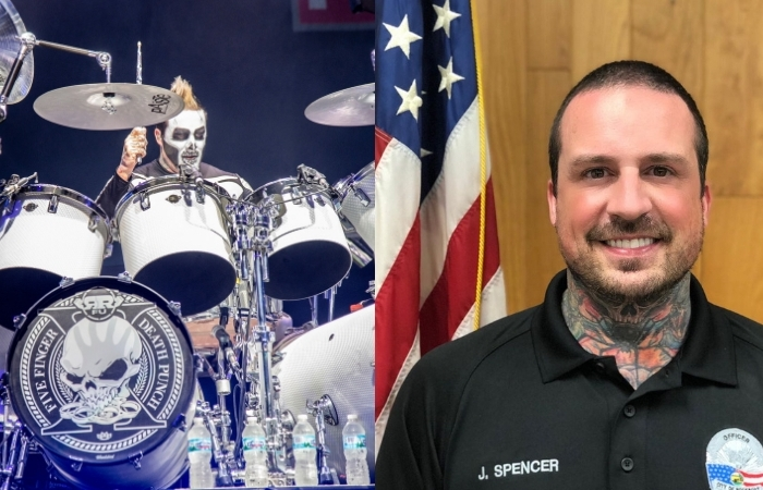 Ex-Five Finger Death Punch Drummer Sworn in as Police Officer