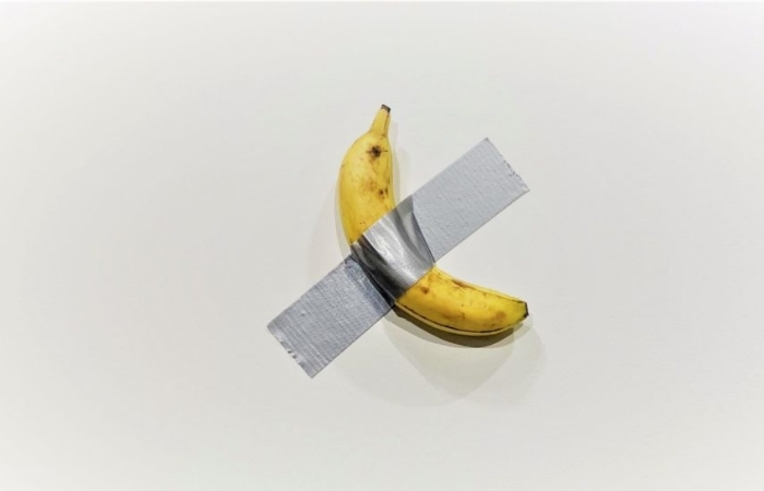 This Banana Duct Taped to a Wall is Selling for $120K At Art Basel