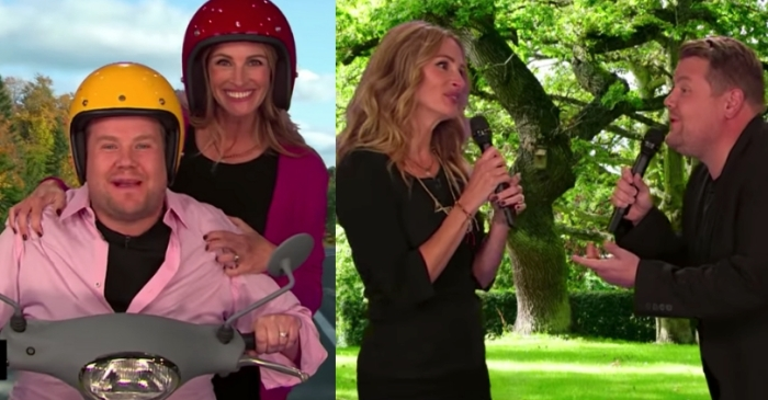 Julia Roberts Remakes 26 of Her Best Movies in 10 Minutes — with James Corden's Help