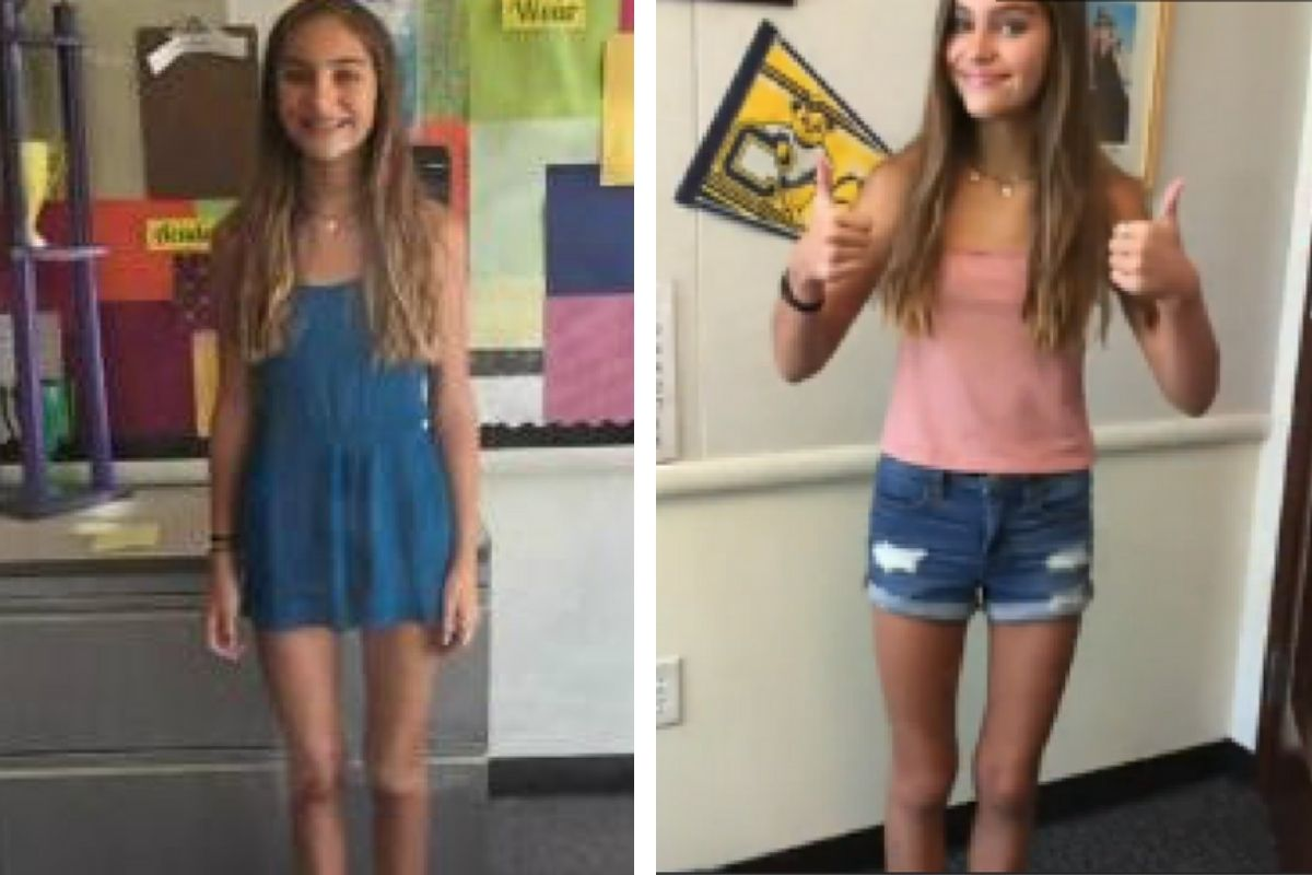 """Dad Challenges School Dress Code After His Daughter Was Punished For """"Distracting Boys"""""""