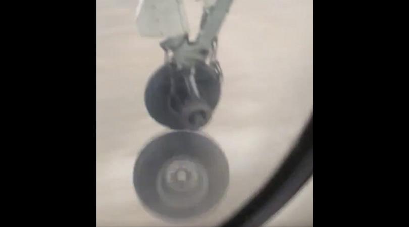 Air Canada Plane Wheel