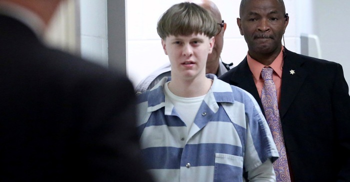 White Supremacy Terrorist Dylann Roof Appeals His Death Penalty Sentence for Church Massacre