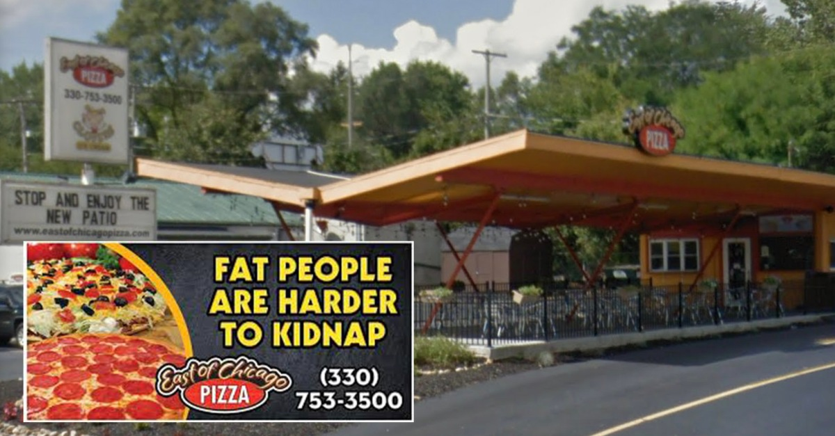 Fat People Pizza Ohio