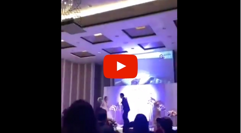 Groom Plays Video Of Bride Cheating On Him With Brother-In-Law in Front of Entire Wedding