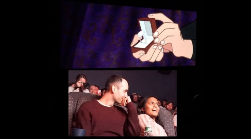 Man Animates Himself and His Girlfriend Into 'Sleeping Beauty' For Epic Proposal